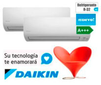 Aire Acondicionado Daikin 2X1 (2MXM40M+FTXM35M+FTXM25M).