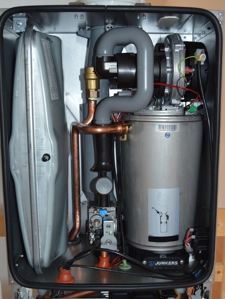 mantenimiento caldera gas natural